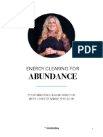 Energy Clearing for Abundance Workbook by Christie Marie Sheldon