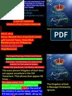 UPSIDE DOWN KINGDOM TENSION Hebrew vs Greek Mindset July 6 2019
