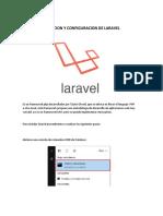 Instalacion Laravel