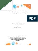 """""""Evaluación Económica Del Proyecto Sostenible SANDRA _PEINADO"""