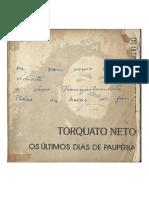 Edoc.pub Torquato Neto Os Ultimos Dias de Pauperia