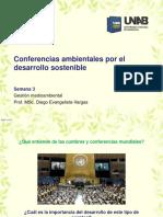 Conferencia Ambientales Por El Desarrollo Sostenible