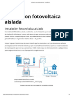 Instalacion fotovoltaica aislada - HelioEsfera.pdf