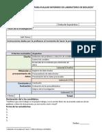 Indicadores Para Evaluar Un Informe de Laboratorio (1)