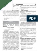 DS 009-2018-JUS - Protocolo de Actuación Interinstitucional Específico Para La Aplicación Del Proceso Inmediato Reformado