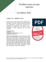 Leveduras Levteck - Descritivo Leveduras