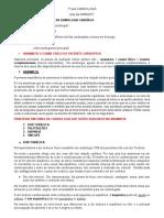 Aula 1 - Revis+úo de semiologia cardiovascular
