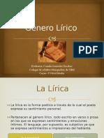 GÉNERO LÍRICO.pptx
