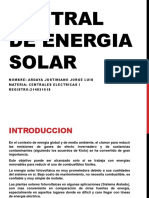 Proyecto Centrales I ELT 282 Energias alternativas