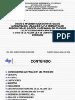 Presentación_Tesis de Automatización de sistema de deshidratación de crudo V-1040