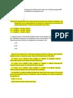 Finanzas 1 Problemas de Bonos Con Respuesta