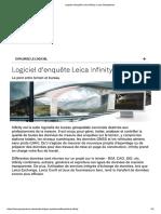 Logiciel d'Enquête Leica Infinity _ Leica Geosystems