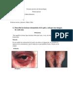 Examen Practica de Dermatología