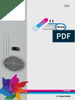 Pavarini Components Catalogo Condizionatori 2014 ENG
