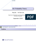 Probability Theory Presentation 01