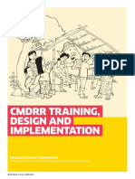 Booklet 1 CMDRR Training Design and Implementation