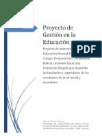 Proyecto de Gestión en La Educación II - Manuel Rocha v2