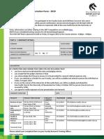 3MT Registration Form