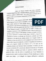 Sentencia Héctor Amodio Pérez