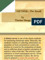 Dietary Method for Pkl 2014
