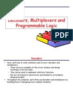 Desoders & Multiplexers