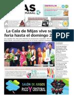 Mijas Semanal Nº 849 Del 26 de julio al 1 de agosto de 2019
