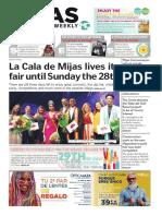 Mijas Semanal Nº 849 Del 26 de julio al 1 de agosto de 2019 (Inglés)