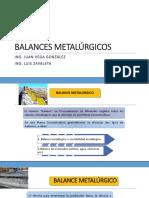 Balances Metalúrgicos Completo