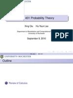 Probability Theory Presentation 02