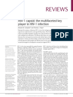 HIV-1 Capsi - The Multifaceted Key Player in HIV 1 Infection