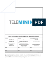SSO-PE-003 Procedimiento Para La Identificación Requisitos Legales Aplicables SSO