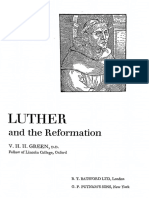 Luther and the Reformation - V. H. H. Green