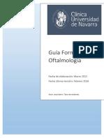 Programa Residencia Oftalmologia 2016