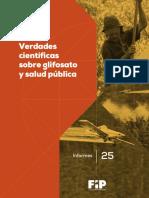 Verdades sobre glifosato y Salud Publica