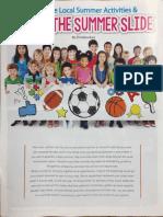 Summer Activities & Slide Article