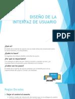 Diseño de La Interfaz de Usuario