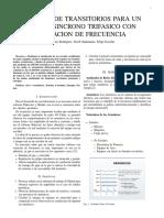Analisis de Transitorios Para Un Motor Sincrono Trifasico Con Variacion de Frecuencia