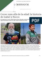 Correr Más Allá de La Edad_ La Historia de Isabel y Rocco
