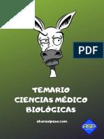 Temario Ciencias Medico Biologicas
