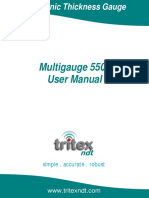 Multigauge 5500 NDT instrument