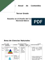 Plan CCNN Tercero Grado