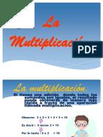 Multiplicación - Gerardo Iquira