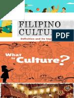 Filipino Culture and Language