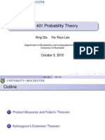 Probability Theory Presentation 09