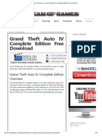 [PC GAME] [PC GAME] Grand Theft Auto IV Complete Edition