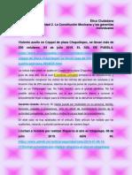 MIV-U2- Actividad 2. La Constitución Mexicana y Las Garantías Individuales