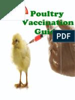 Poultry vacciantion guide