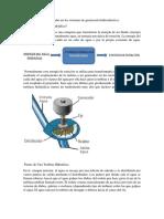 Tipos de Turbinas Utilizadas en Los Sistemas de Generación Hidroeléctrica