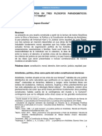 Ponencia José Pablo Velásquez E - Política y Justicia en Aristóteles, Kant y Rawls