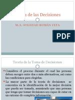 Teoría de Las Decisiones Sesion 1